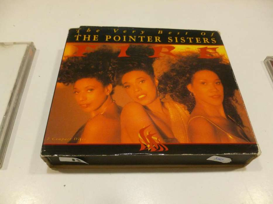 CD The Point Sisters, The very best of, albun doble