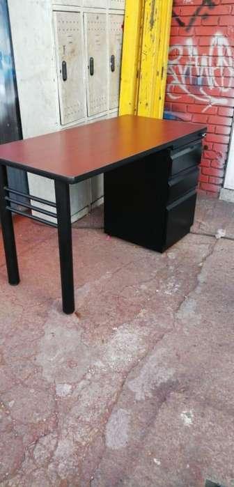 <strong>escritorio</strong> Sencillo Metalico