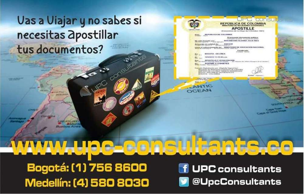UPC CONSULTANTS - TRADUCTORES OFICIALES - TECNICOS E INTERPRETES EN 8 IDIOMAS A NIVEL NACIONAL 3113050553*