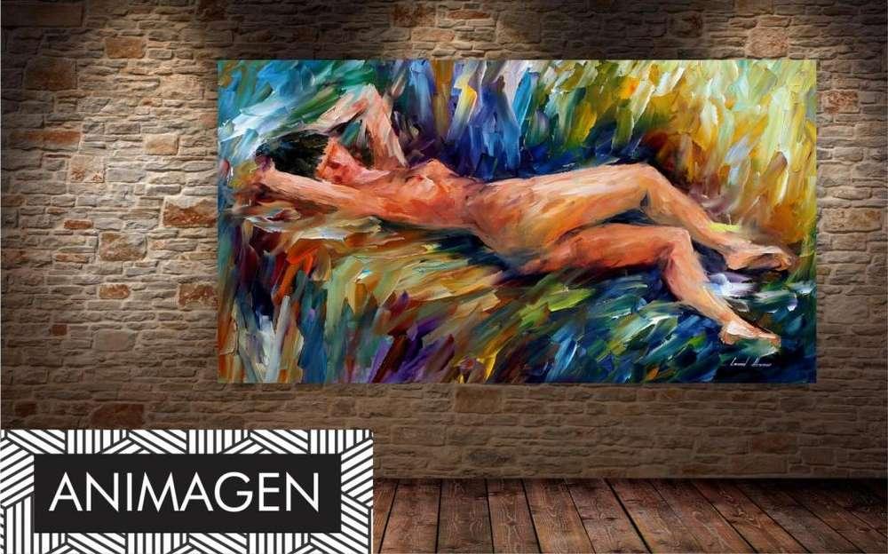 Cuadro abstracto de desnudo 1891