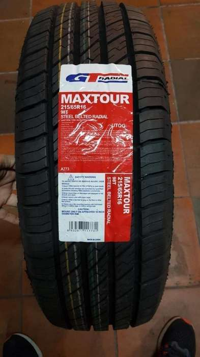 Llantas Gt Radial Maxtour 215.65r16