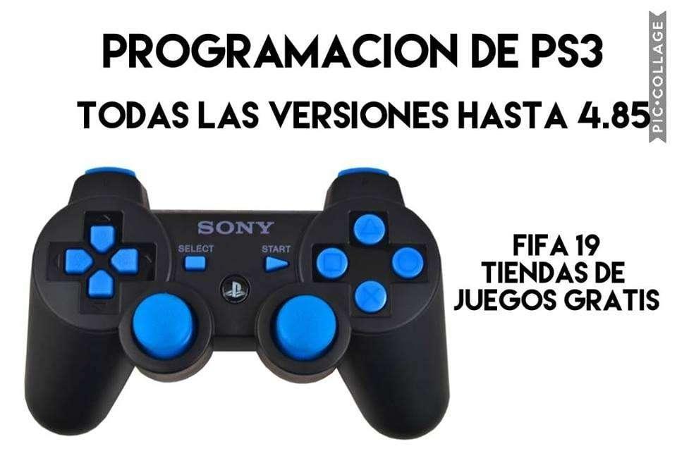 programacion de ps3 TODAS LAS VERSIONES 4.85 mas tienda gratuita