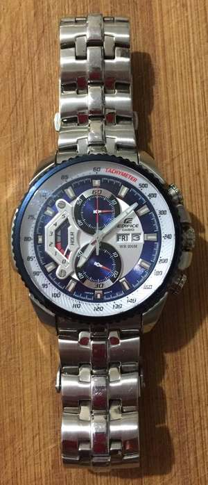 Reloj Casio Edifice Ef 558 Fd Linea Red-Bull 100% Original