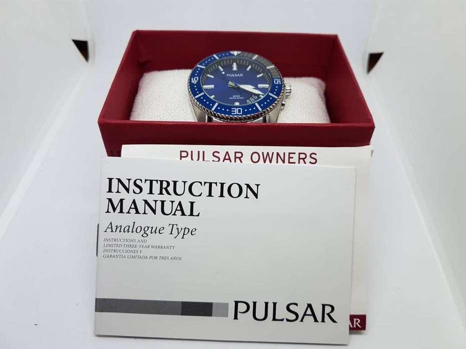 Reloj Original Pulsar By <strong>seiko</strong> Ps9319 Usado