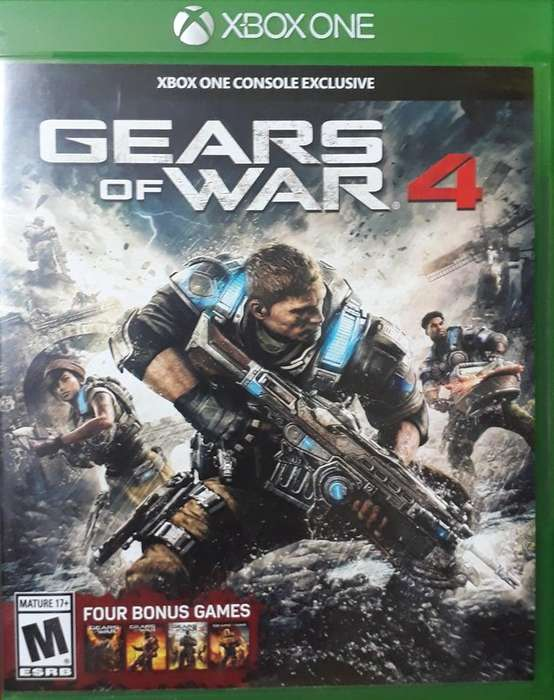 XBOX ONE GEARS OF WAR 4 OVER WATCH CALL OF DUTY BLACK OPS