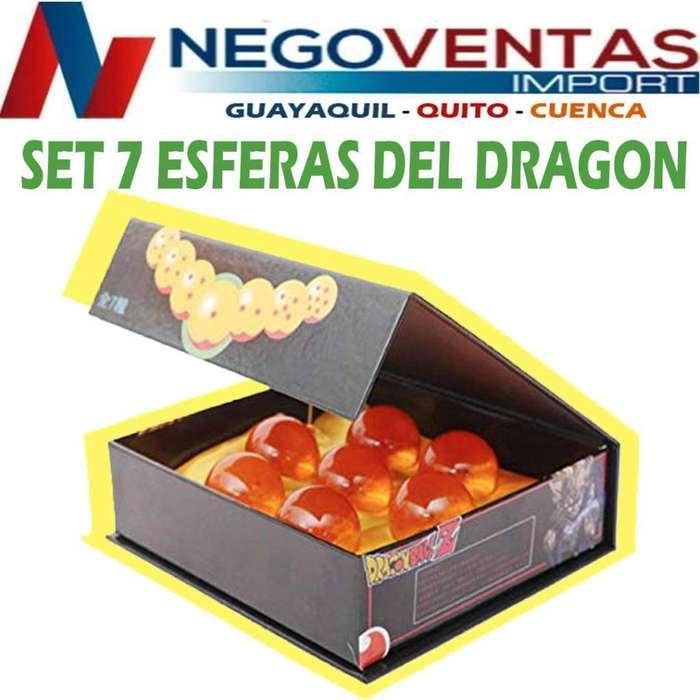ESFERAS DEL DRAGON COLECCIONABLES DE OFERTA