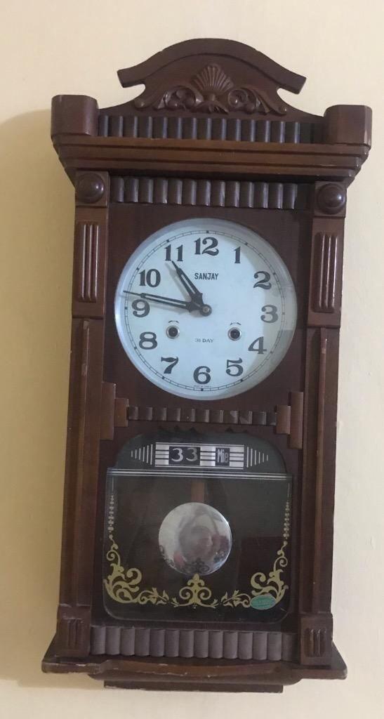bda693116484 Reloj Antiguo de Pared Cuerda con Pendul - Barranquilla