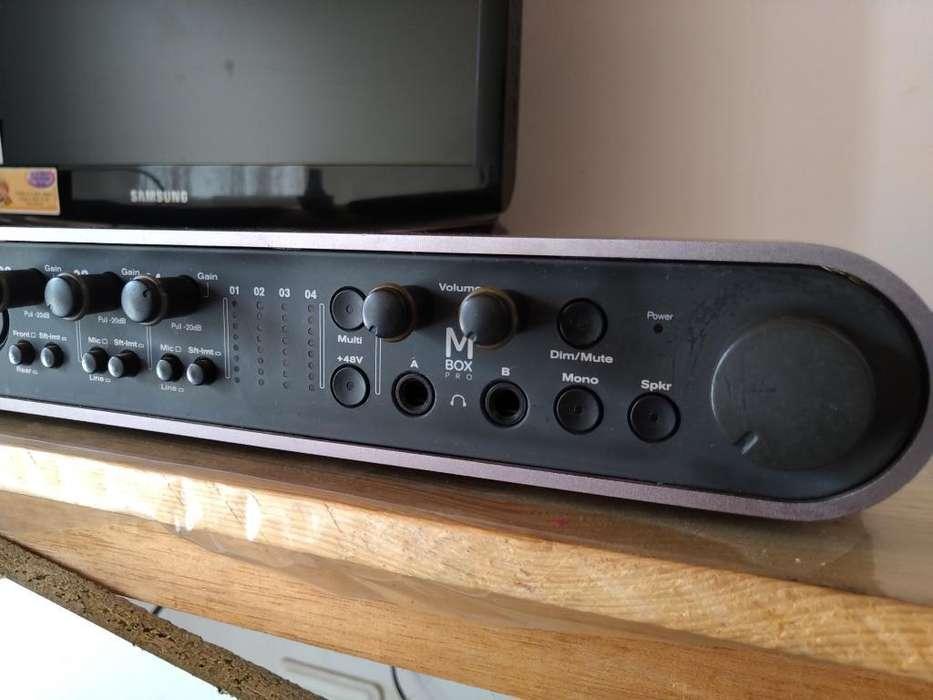 Interfaz Profesional Mbox Pro 3 Firewire