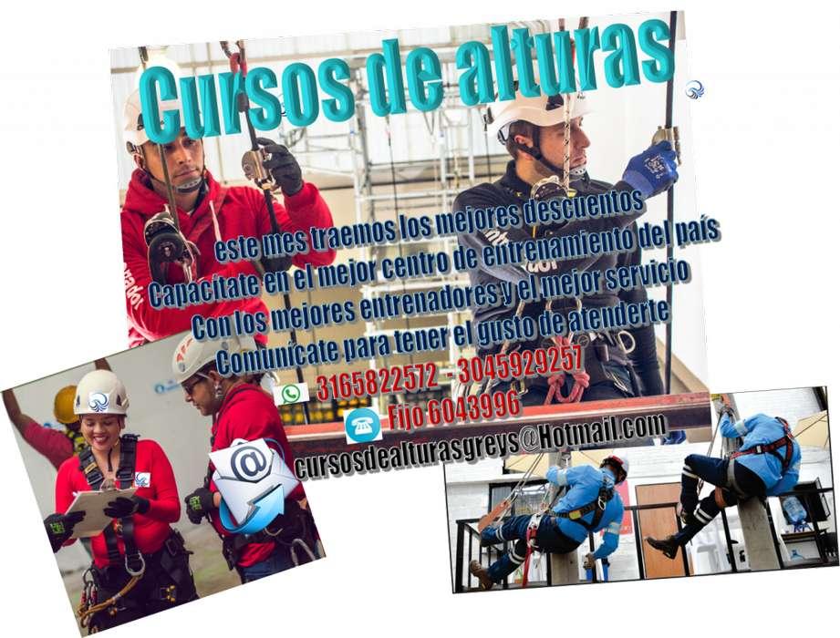 CURSOS DE ALTURAS DESDE 90.000 MIL PESOS.