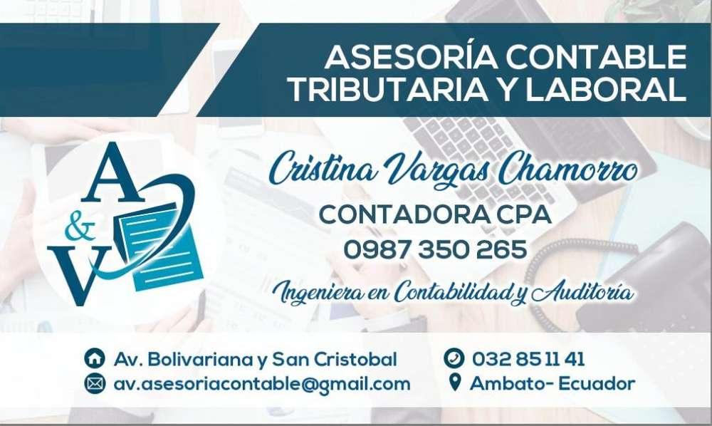 Asesoría Contable Tributaria Laboral