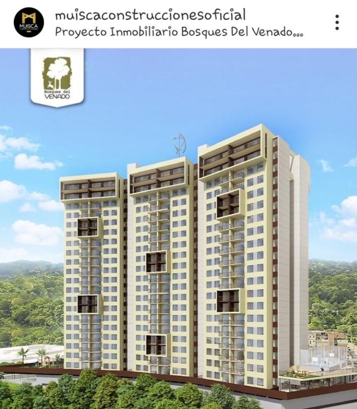 vendo proyecto bosque del venado, torre 2 piso 7, super económico.