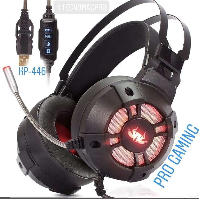 Auricular Gaming Pro Extreme Knup Usb