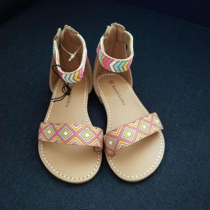 Sandalias de Niña Nueva Talla 22