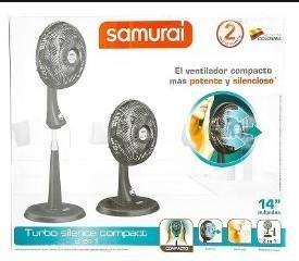 Ventilador samurai Compac 2 en 1, nuevos con garantia