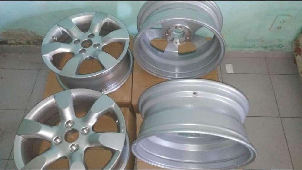 4 Llantas Originales en Caja de Peugeot