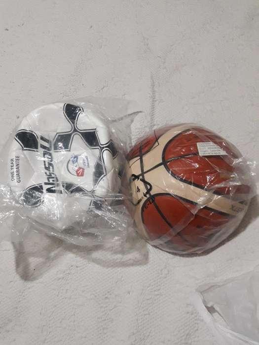 Pelotas Futbol Y Basquet
