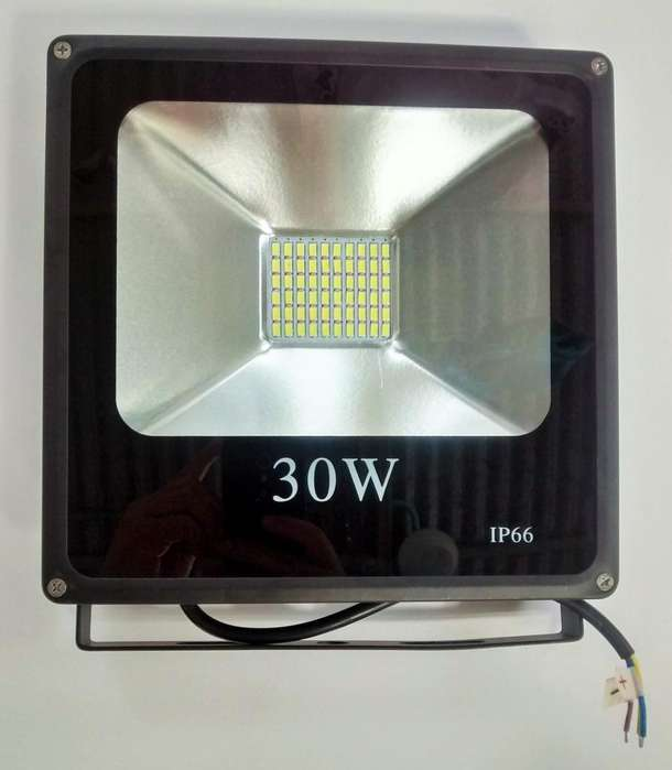 Reflector Led Slim Solar 30W a 12V