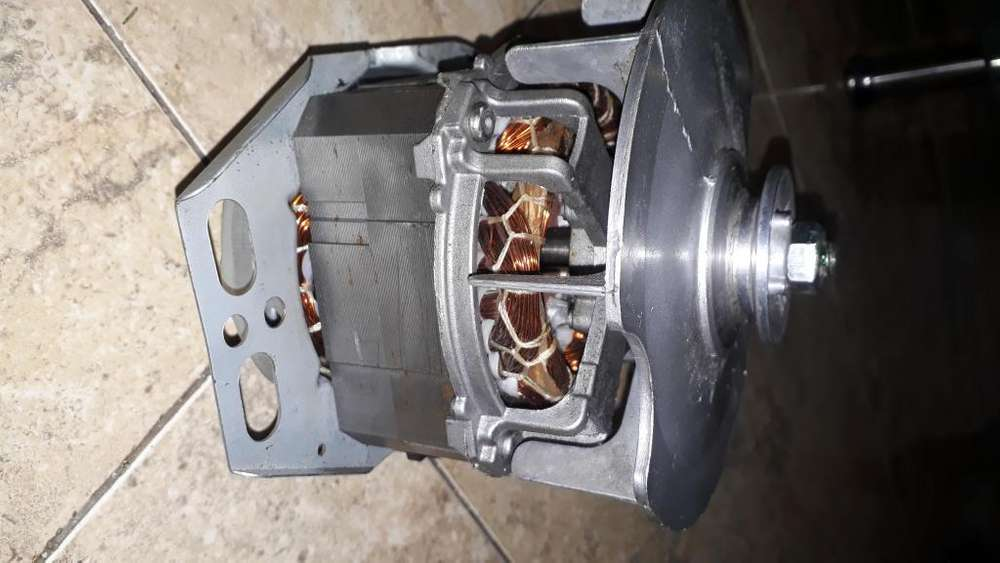 motor lavadora sin uso