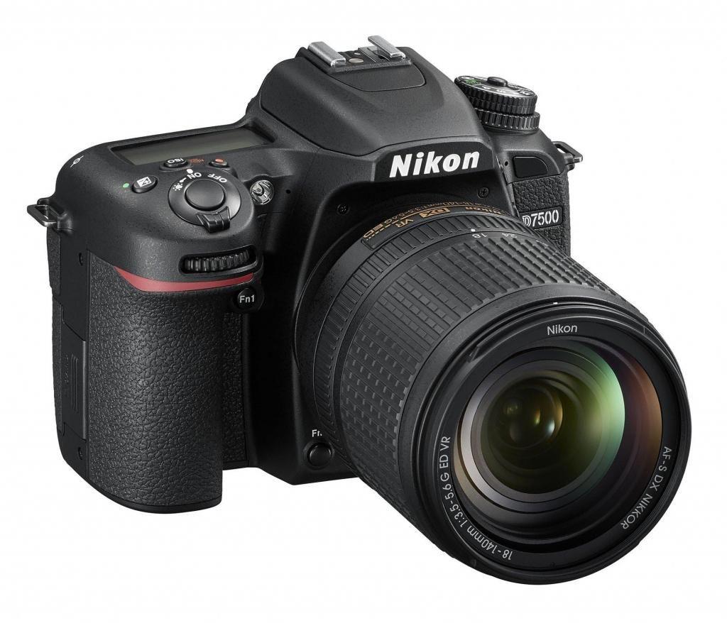 CAMARA PROFESIONAL NIKON D7500 lente 18140mm Memoria Sd 16 Gb Estuche Nueva Garantia 1 año