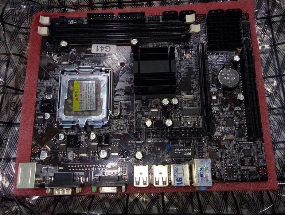 Motherboard G41 Ddr3