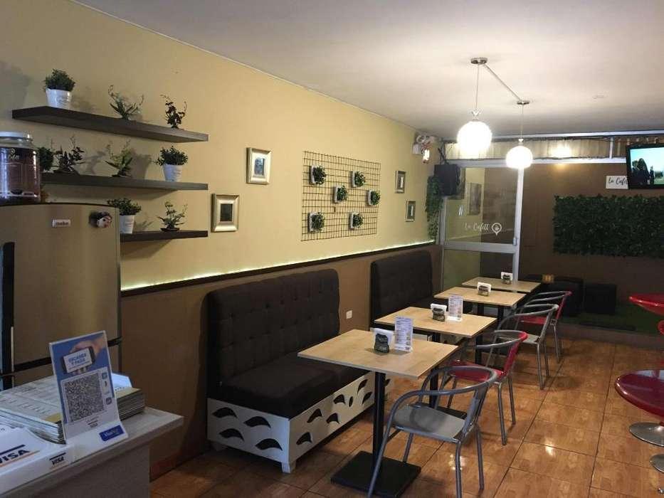 Traspaso Cafetería Excelente Ubicación