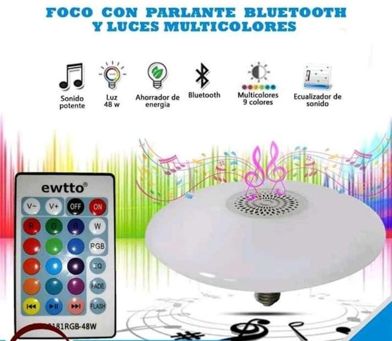 Foco Led Bluetooth Multicolor