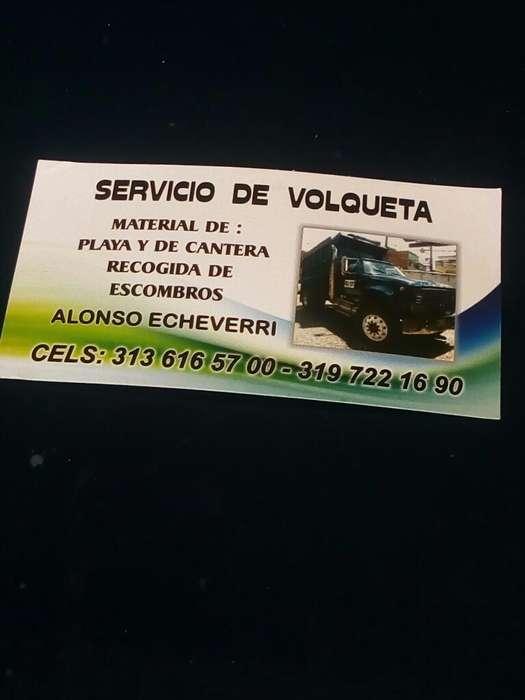 Servicio de Volqueta