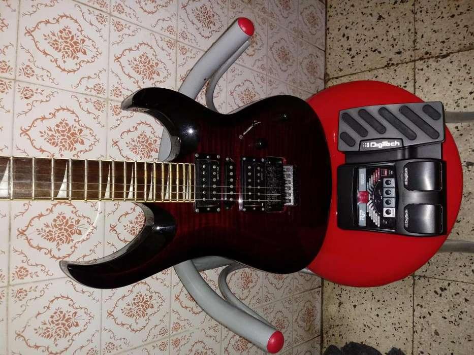 Guitarra cort x11 mas pedalera digitech vendo