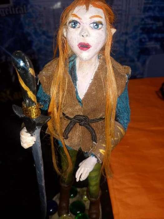 Mágica - elfo Mujer
