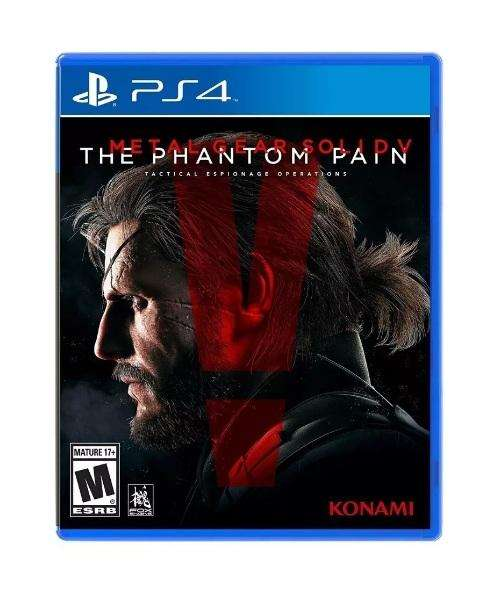 Metal Gear Solid V The Phantom Pain Ps4 Fisico Sellado Konam