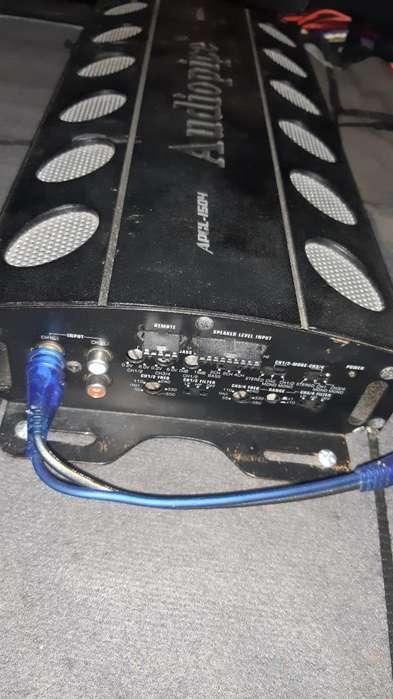 Amplificador Audiopipe 1500 4ch