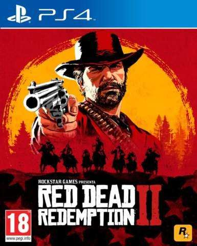 Red Dead Redemption 2 PS4 Juego Nuevo Sellado Playstation 4