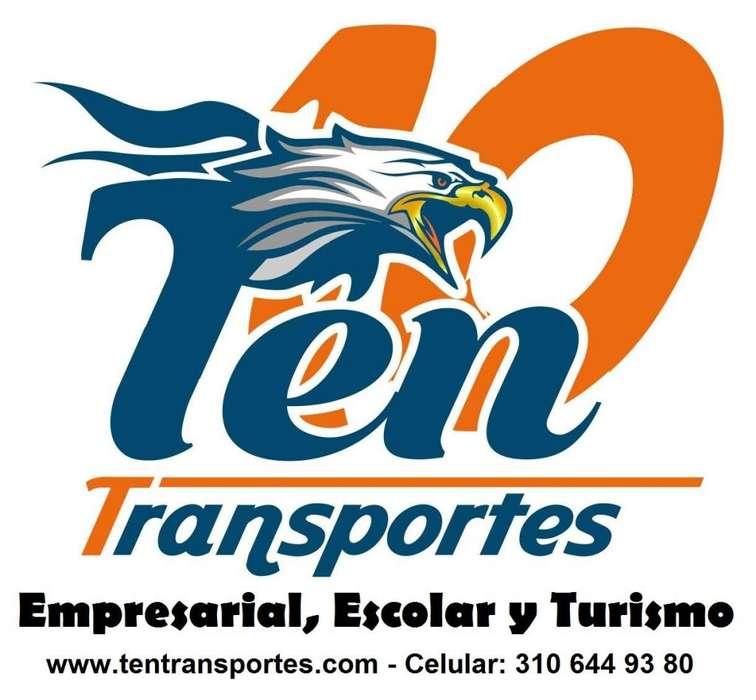 Empresa de transportes especiales en Popayan