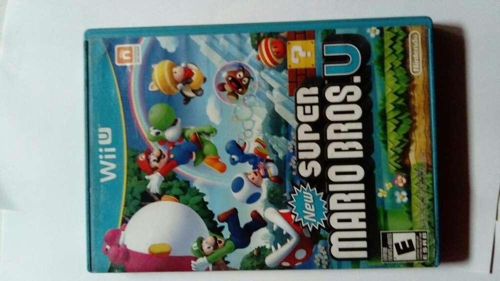 Super Mario Bros Wii U Juego Nintendo