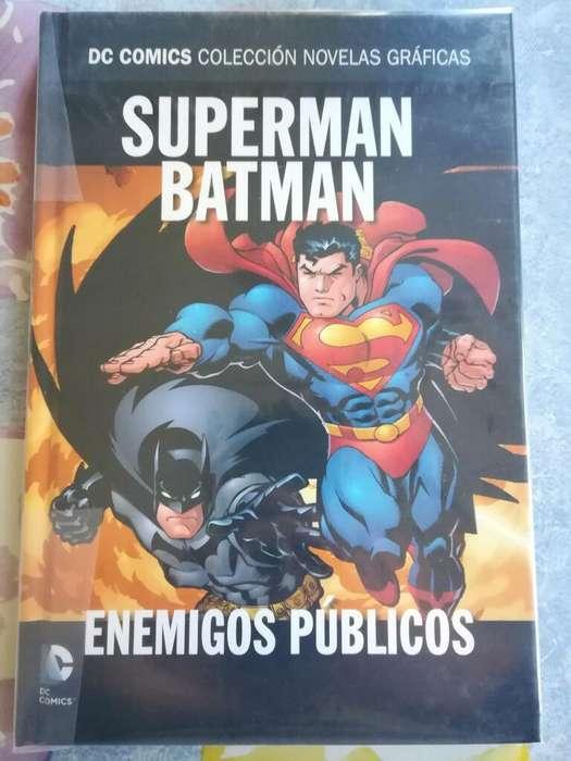 Comic Superman Batman Enemigos Publicos