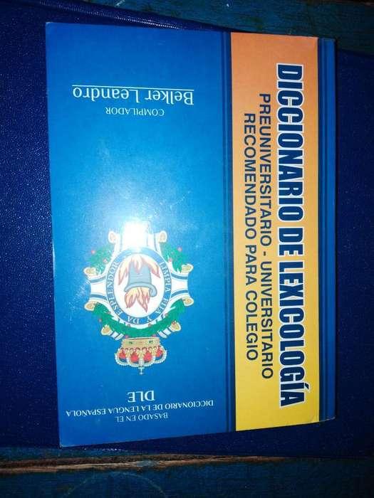 Se Vende Diccionario de Lexicología