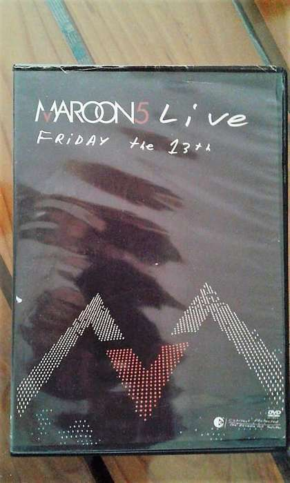 MARRON 5 Live Friday the 13th. DVD
