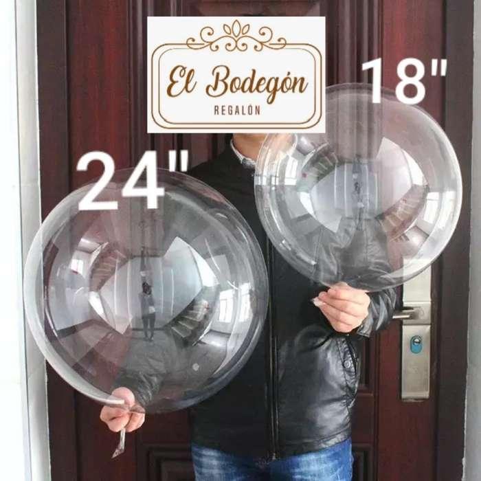 Globos Burbujas 24pulgadas