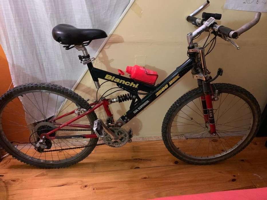 Vendo Bicicleta con Doble Amortiguacion