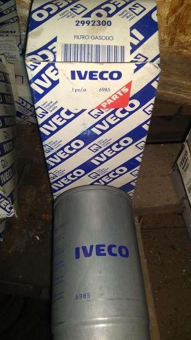 Iveco Filtros Gas Oil Aceite Sire