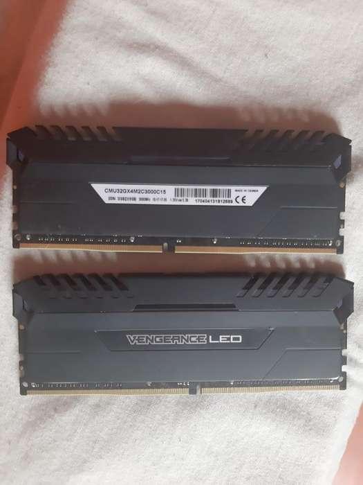 <strong>memoria</strong> Ram Ddr4 Dual 2x16gb