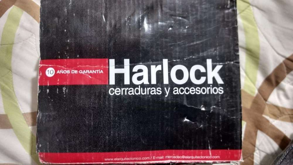Cerradura para entrada Harlock