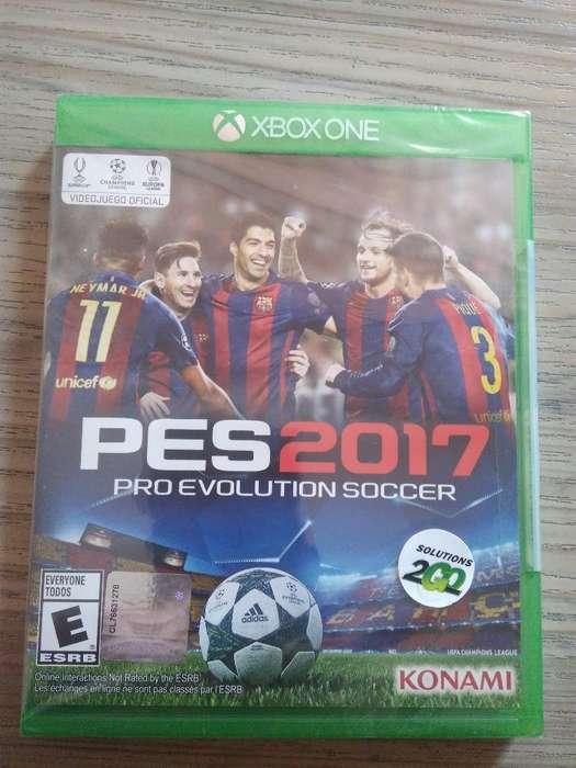 Pes 17 Xbox One Sellado
