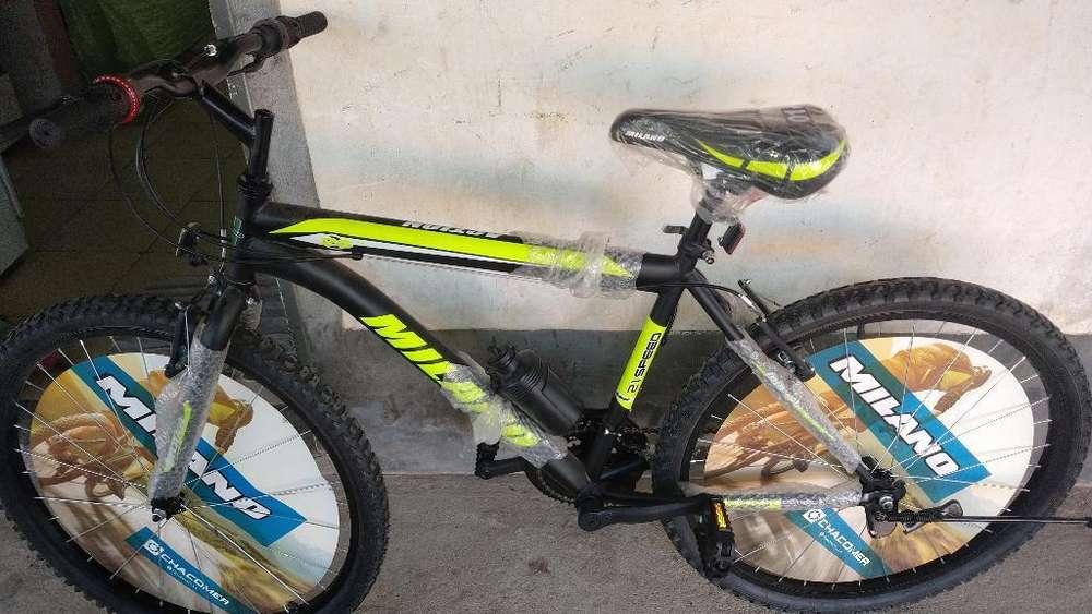 Bicicleta Mtb Rodado 26 Unisex Nuevo