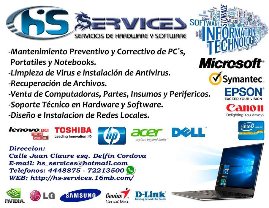 HS Services Servicios de Hardware y Software
