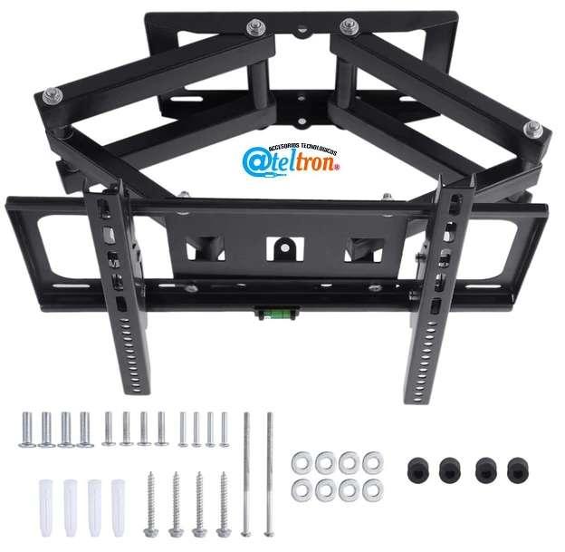 Soportes bases TV LED LCD doble brazo articulado alta resistencia peso dual 32 60
