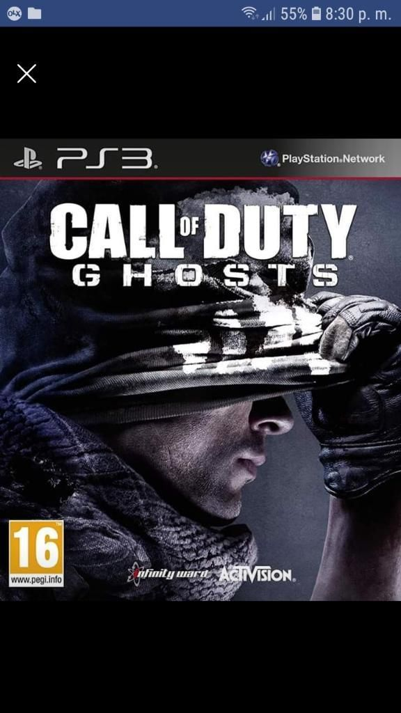 Vendo Call Of Duty Ghosts