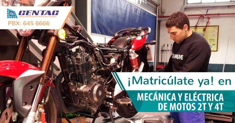 QUE ESPERAS, ESTUDIA MECÁNICA DE MOTOS Y HAZTE TODO UN PROFESIONAL 3184152207