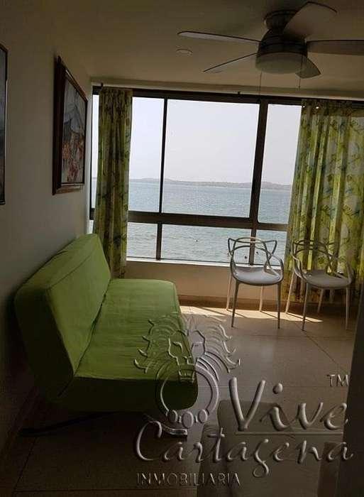 Apartamento con vista al mar cartagena , barrio el laguito.