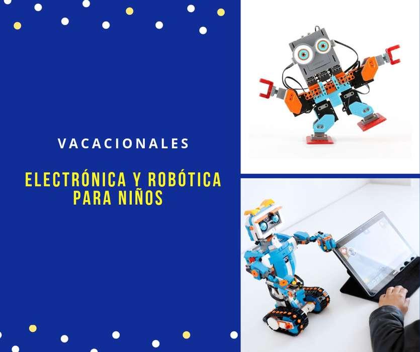 Cursos Vacacionales Bases de Electrónica